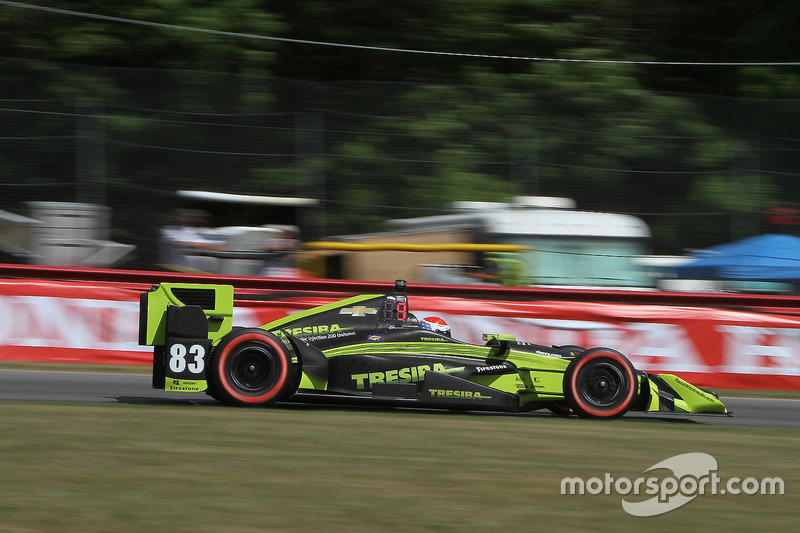 Чарлі Кімболл, №83, Chip Ganassi Racing Honda