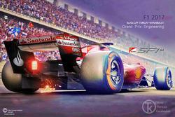 Fan art :2017 Haloscreen konsept tasarım