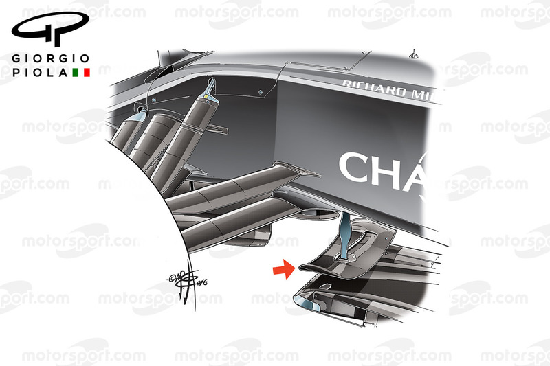 McLaren MP4-31: Splitter-Winglet, GP Deutschland