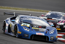 #66 Attempto Racing Team, Lamborghini Huracán GT3: Emil Lindholm, Andre Gies