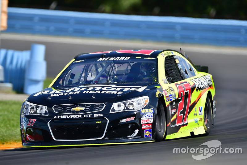 22. Paul Menard, Richard Childress Racing, Chevrolet