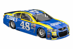 Throwback-Design von Jimmie Johnson, Hendrick Motorsports, Chevrolet