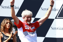 Podium: Gigi Dall'Igna, Ducati Team