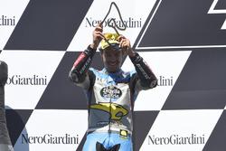 Podium: Franco Morbidelli, EG 0,0 Marc VDS, Kalex