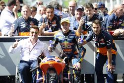 Brad Binder, Red Bull KTM Ajo, KTM, et Pit Beirer