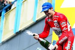 Podium: third place Carlos Checa, Yamaha Team