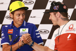 Valentino Rossi, Yamaha Factory Racing, Scott Redding, Octo Pramac Racing
