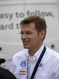 Dr. Frank Welsch, a Volkswagen fejlesztési tanácsának tagja