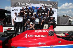 Обладатель поула - Михаил Алешин, Schmidt Peterson Motorsports Honda