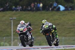 Loris Baz, Avintia Racing; Pol Espargaro, Tech 3, Yamaha