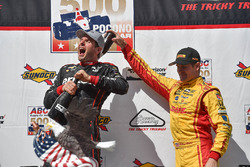 1. Will Power, Team Penske, Chevrolet; Ryan Hunter-Reay, Andretti Autosport, Honda