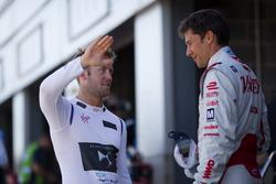 Sam Bird, DS Virgin Racing, e Loic Duval, Dragon Racing