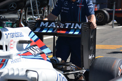 Rear wing, Williams FW38