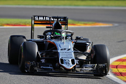 Nico Hulkenberg, Sahara Force India F1 VJM09 with the Halo cockpit cover