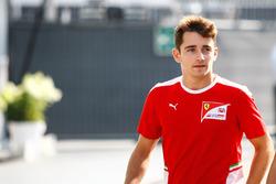 Charles Leclerc, test pilotu, Haas F1 Team
