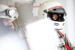 Porsche Team crew member
