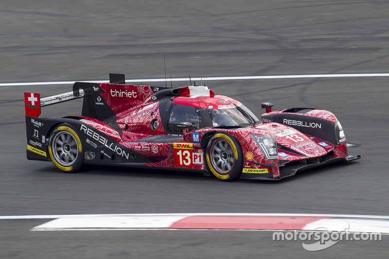 5. LMP1: #13 Rebellion Racing, Rebellion R-One AER: Matheo Tuscher, Dominik Kraihamer, Alexandre Imperatori