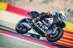 KTM-Test in Aragon, August