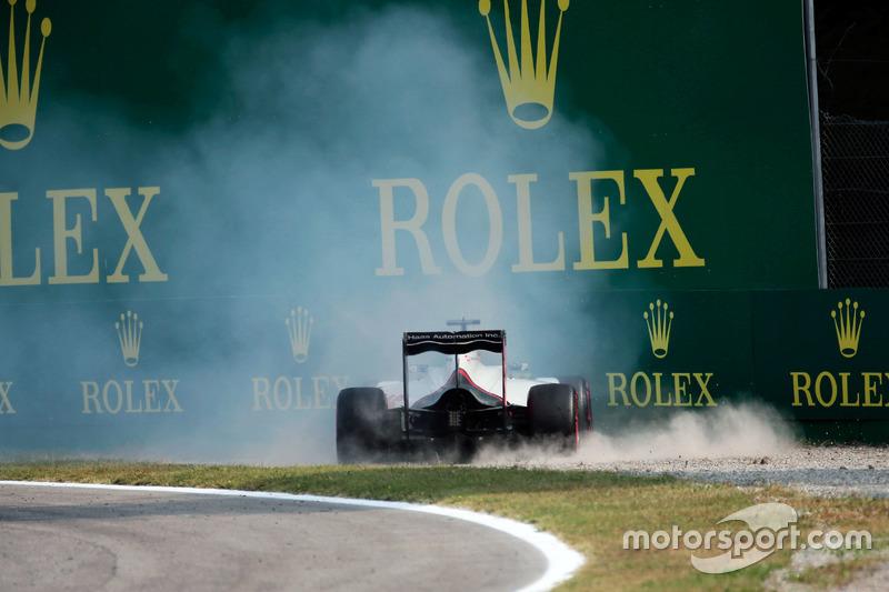 17: Romain Grosjean, Haas F1 Team VF-16 (incluidas 5 posiciones de sanción)