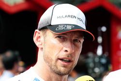 Дженсон Баттон, McLaren і ЗМІ