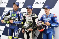 Поул-позиція Кел Кратчлоу, Team LCR Honda, друге місце Валентино Россі, Yamaha Factory Racing, третє місце Маверік Віньялес, Team Suzuki MotoGP