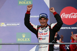 Podium: #6 Toyota Racing, Toyota TS050 Hybrid: Stéphane Sarrazin