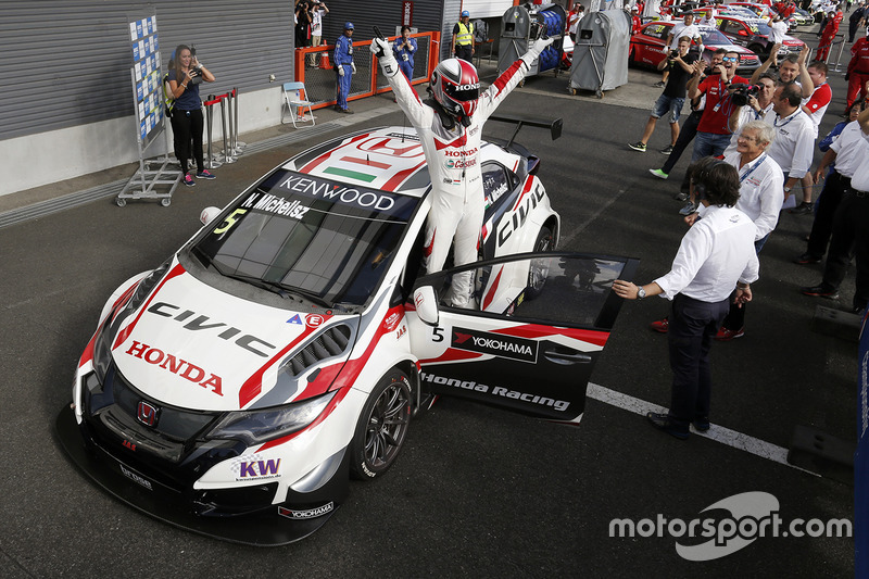 Ganador Norbert Michelisz, Honda Racing Team JAS, Honda Civic WTCC