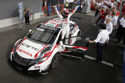 1. Norbert Michelisz, Honda Racing Team JAS, Honda Civic WTCC