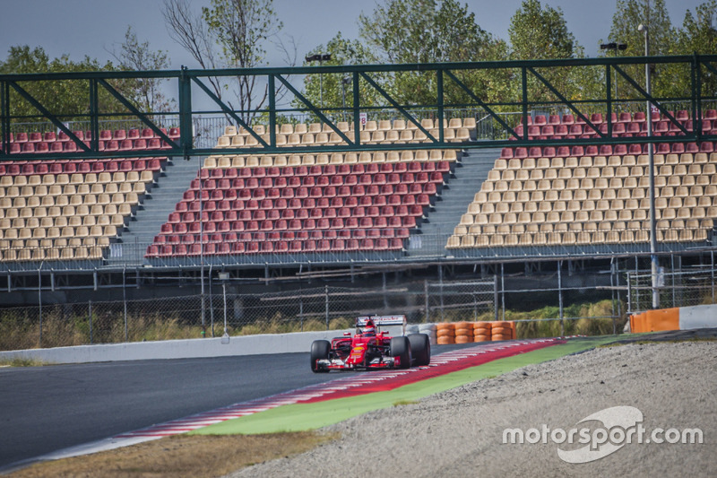 Кімі Райкконен, Ferrari з гумою Pirelli 2017