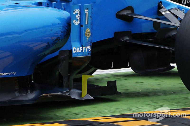 Détails de la Manor Racing MRT05
