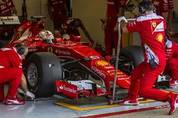 Pirelli-Reifentest: Ferrari in Barcelona