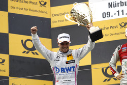 Podium: second place Lucas Auer, Mercedes-AMG Team Mücke, Mercedes-AMG C63 DTM