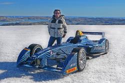 Alejandro Agag, Formel-E-Boss, in der Arktis