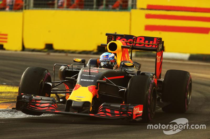2º: Daniel Ricciardo, Red Bull Racing RB12
