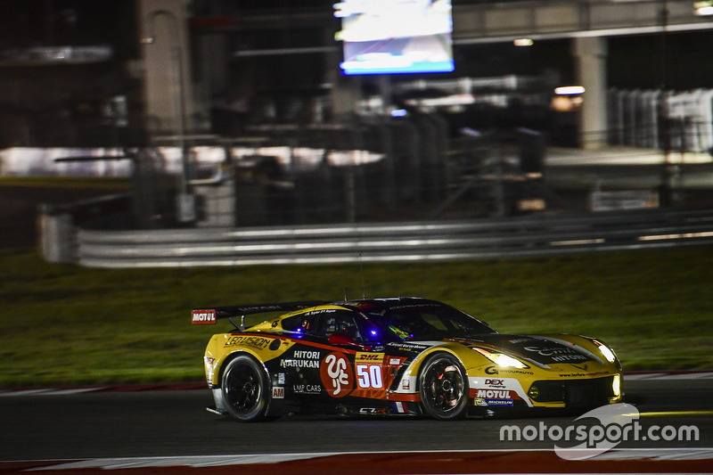 3. GTE-Am: #50 Larbre Competition, Corvette C7.R: Ricky Taylor, Yutaka Yamagishi, Pierre Ragues