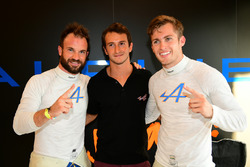 Polesitters LMP2 #36 Signatech Alpine A460: Gustavo Menezes, Nicolas Lapierre, Stéphane Richelmi