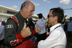 Dr. Wolfgang Ullrich, Head of Audi Sport, Pierre Fillon, ACO President