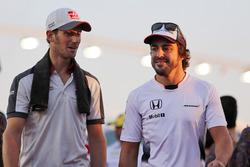 Ромен Грожан, Haas F1 Team, Фернандо Алонсо, McLaren на параді пілотів