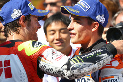 Race winner Marc Marquez, Repsol Honda Team with Cal Crutchlow, Team LCR Honda