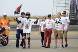 Second place Brad Binder, Red Bull KTM Ajo