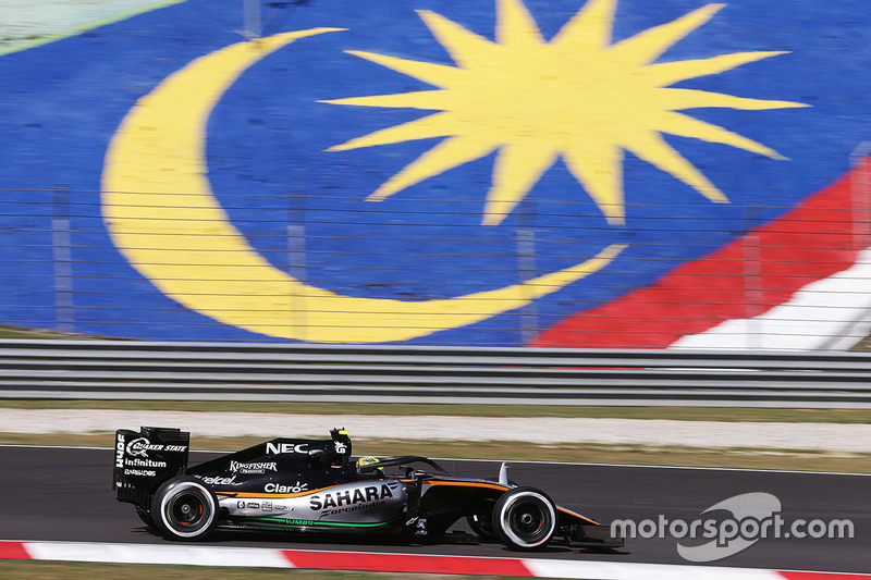 Sergio Perez, Sahara Force India F1 VJM09 Halo'yla