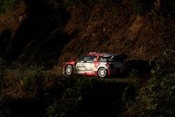 Крейг Брин и Скотт Мартин, Citroen DS3 WRC, Abu Dhabi Total World Rally Team