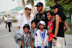 Lewis Hamilton, Mercedes AMG F1 with fans