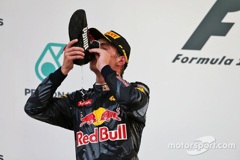 16. GP de Malasia 2016: Max Verstappen (2º)