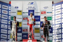 Rookie Podium: Joel Eriksson, Motopark Dallara F312 – Volkswagen; Ralf Aron, Prema Powerteam Dallara F312 – Mercedes-Benz; Anthoine Hubert, Van Amersfoort Racing Dallara F312 – Mercedes-Benz