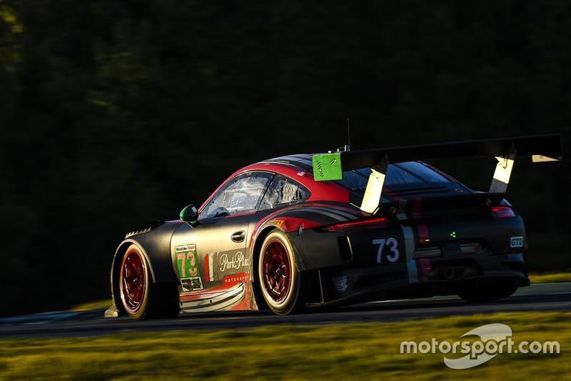 #9: Park Place Motorsports, Porsche GT3 R, beim Petit Le Mans