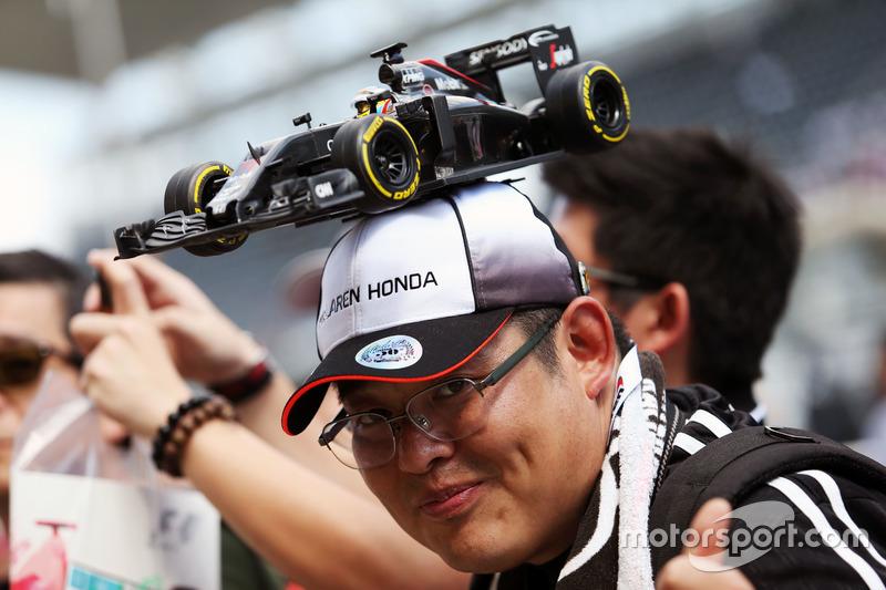 Fan von McLaren