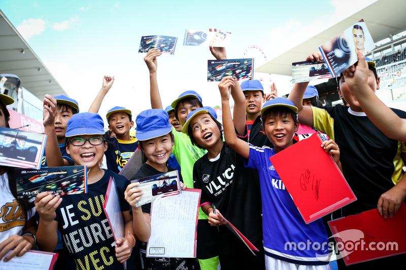 Fans jóvenes Manor Racing