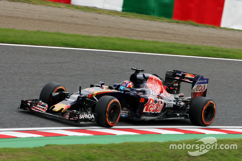 13: Daniil Kvyat, Scuderia Toro Rosso STR11
