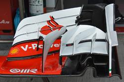 تفاصيل الجناح الأمامي لسيارة فيراري اس.اف16-اتش